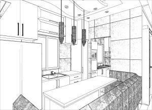 舊山頂道6號-廚房3